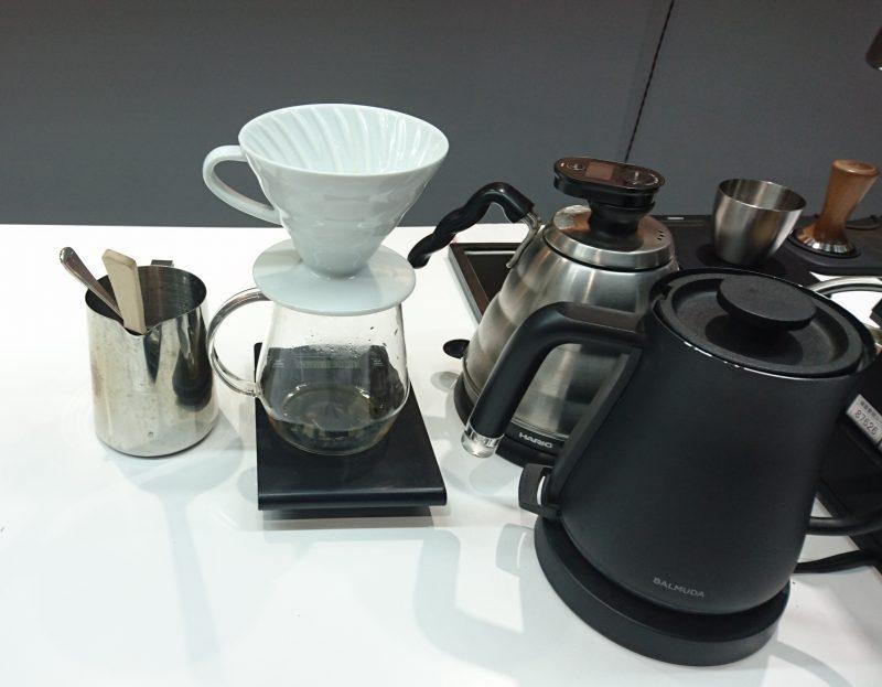 コーヒーに使う器具