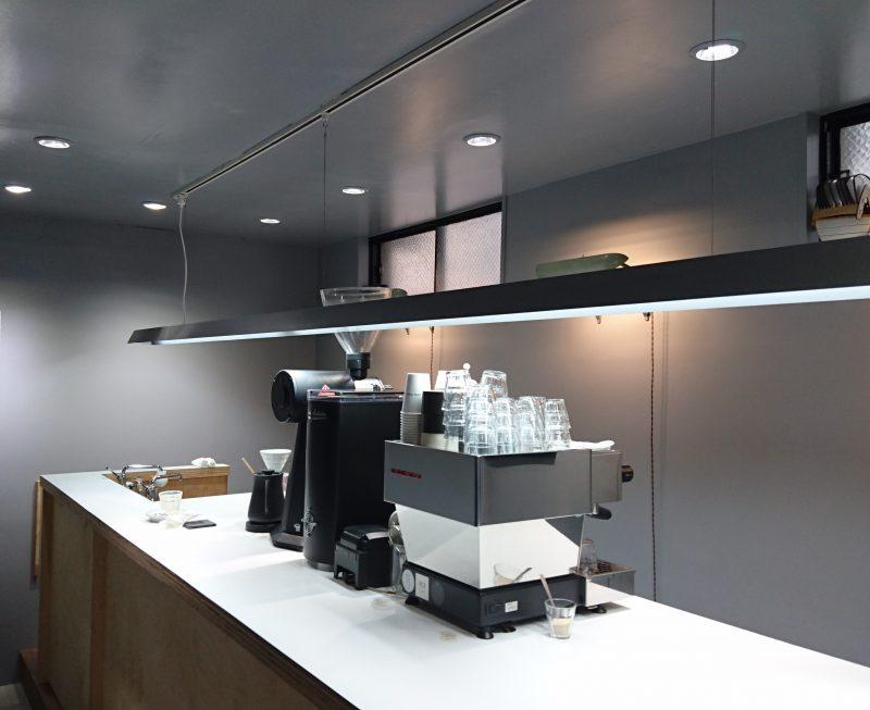 コーヒーマシーンとその周辺