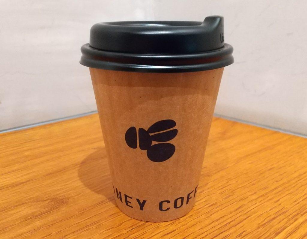 HONEY COFFEE 真横から撮影