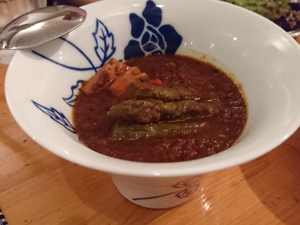 旬の野菜のヘルシーカリー