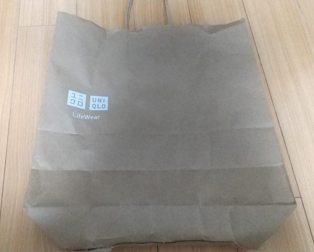 ユニクロ 紙袋