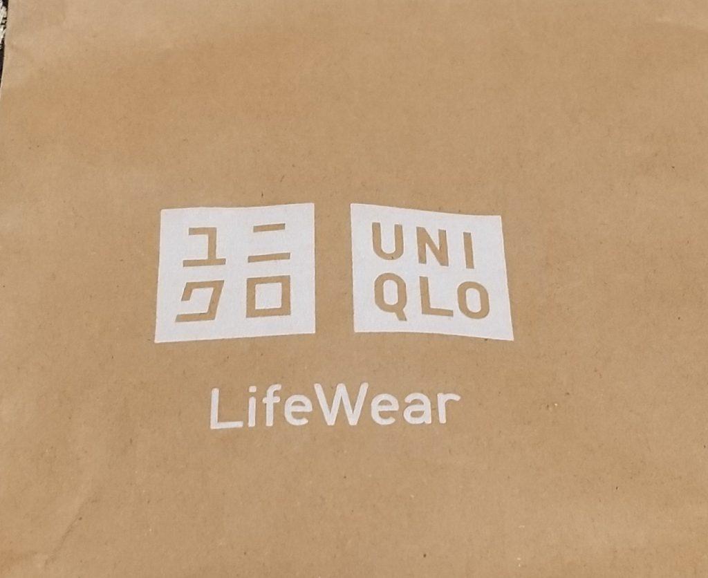 紙袋のロゴ部分