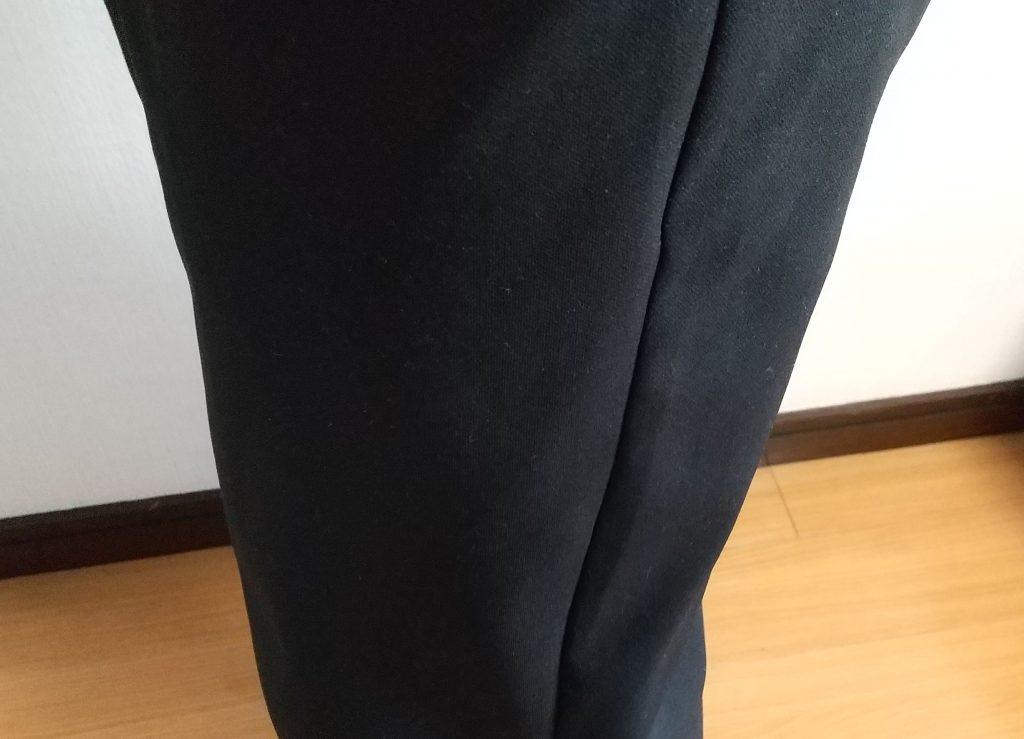 パンツ試着 ポケット下あたりの写真