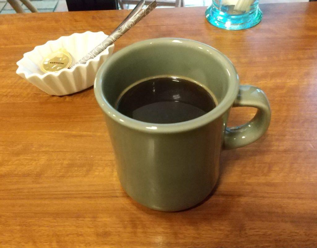 コーヒーやや上側から撮影