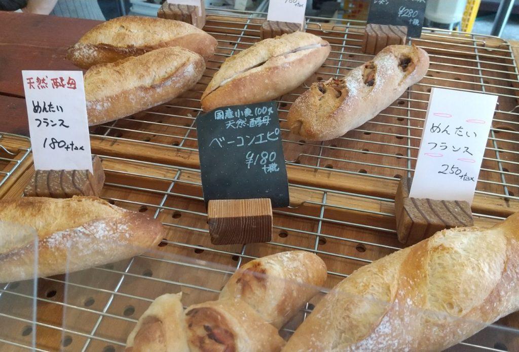 明太フランスなどの総菜パン