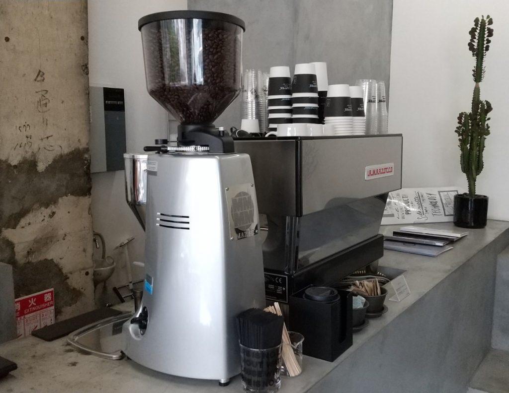 NO COFFEEのコーヒーマシーン
