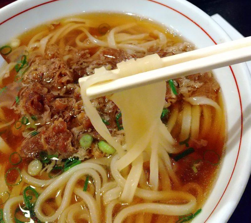 能古の肉うどん 麺