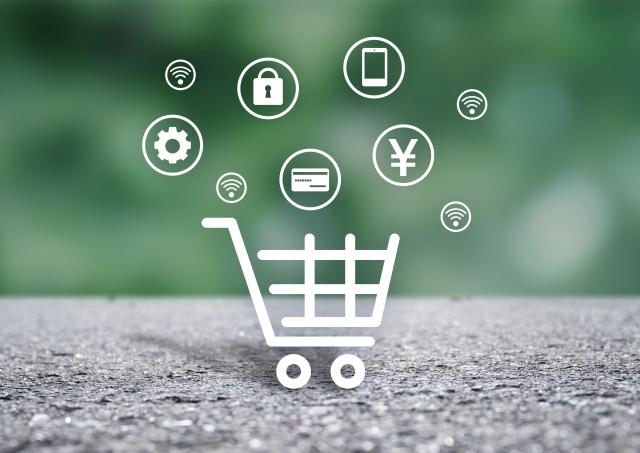 オンラインショッピングのイメージを示した画像
