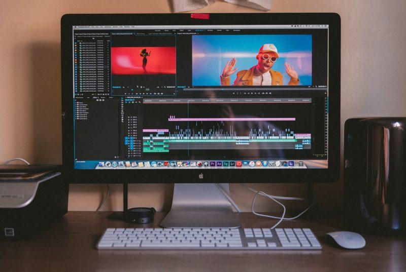 パソコン 動画編集の画面